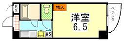 CUBE31[2-E号室]の間取り