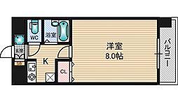 エクセレント上新12[8階]の間取り