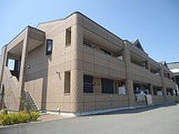 兵庫県姫路市飾磨区高町2丁目の賃貸アパートの外観