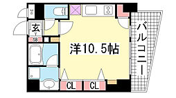 KAISEI神戸海岸通第2[709号室]の間取り