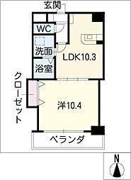 プロビデンス葵タワー[5階]の間取り