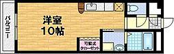 京都府京都市伏見区納屋町の賃貸マンションの間取り