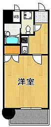 エステートモア・博多グラン[10階]の間取り