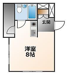 グッドハウス武庫川[2階]の間取り