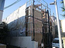 東京都目黒区平町1丁目の賃貸アパートの外観