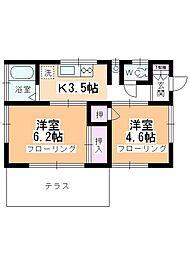 西川越駅 5.5万円