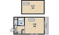 ニューカントリーハイムパート6[4階]の間取り