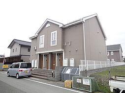 滋賀県高島市新旭町熊野本1丁目の賃貸マンションの外観