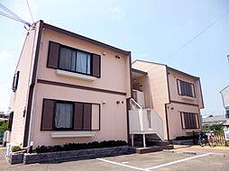 大阪府堺市西区草部の賃貸アパートの外観