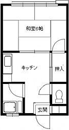 さいわい荘[103号室号室]の間取り