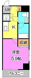 KWレジデンス高野台[5階]の間取り