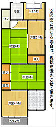 [一戸建] 福岡県北九州市小倉北区吉野町 の賃貸【/】の間取り