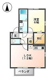 セレブヤマヨシ[2階]の間取り