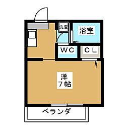 セーズ松原[2階]の間取り