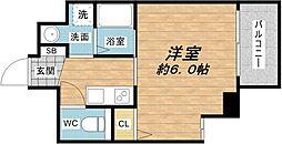 プレサンス東本町vol.2[2階]の間取り
