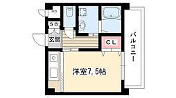 柴昭ビルエスパシオ[305号室]の間取り