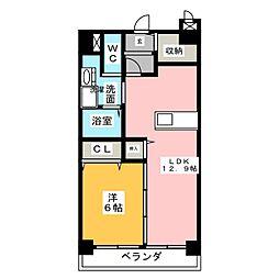 Sakuraビベンテ[10階]の間取り