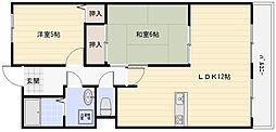 サニコート浅井[2階]の間取り
