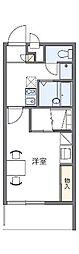 愛知県名古屋市天白区高島1丁目の賃貸アパートの間取り