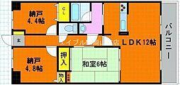 ライオンズマンション野田公園[2階]の間取り