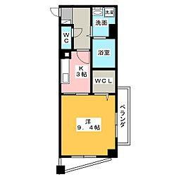 KDステージ名東[7階]の間取り