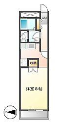 A−WING[2階]の間取り