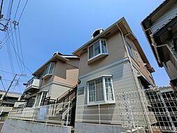 千葉県千葉市中央区登戸2丁目の賃貸アパートの外観