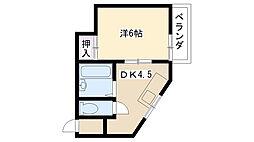さくら5[2階]の間取り
