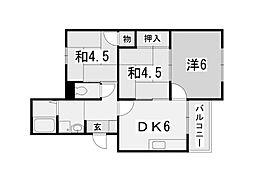 JR東海道本線 住吉駅 3階建[1階]の間取り