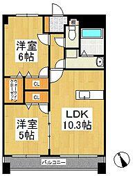 リ・エミネンス[5階]の間取り