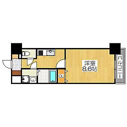TKアンバーコート堺東II[4階]の間取り