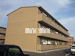 リバーパレス B棟[2階]の外観