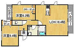 シャーメゾン高倉[1階]の間取り