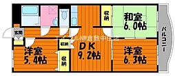 ファミーユK・A・YII[2階]の間取り