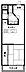 間取り,1DK,面積34.92m2,賃料7.0万円,西武新宿線 上石神井駅 徒歩12分,,東京都練馬区関町南2丁目5-24