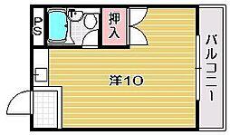 レジデンス曽根田[2階]の間取り
