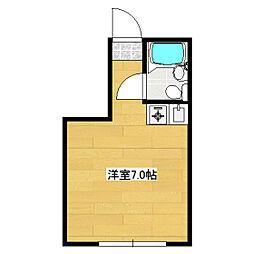 矢本ハウス[102号室]の間取り