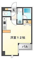ハイムタケダT9[2階]の間取り