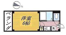 作草部駅 3.7万円