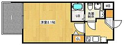 FDS WILL KOHAMA[4階]の間取り