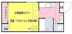 River Place Edogawa[102号室]の間取り