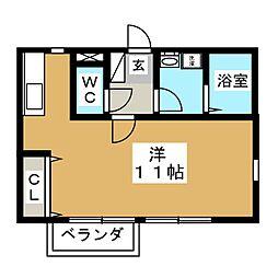ブランドミール[2階]の間取り