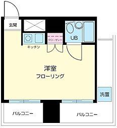 スカイコート渋谷[7階]の間取り