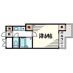 メゾン大和5号館[2階]の間取り