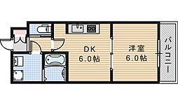 エトワール松崎[302号室]の間取り