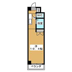みつまめ京都[6階]の間取り