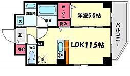 (仮称)合資会社 信宣M 7階1LDKの間取り