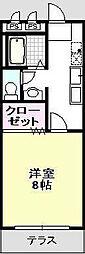 ビームVIII[308号室]の間取り