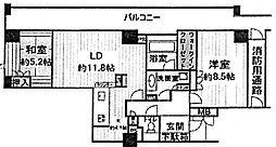 北西角部屋アップルタワー大阪谷町