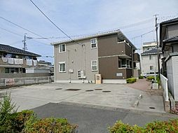 愛知県あま市本郷八尻の賃貸アパートの外観